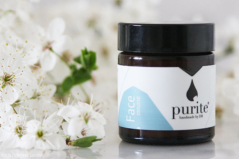 purite face mousse