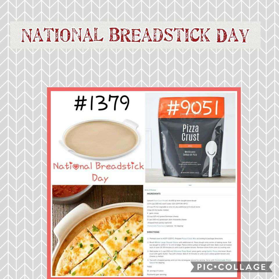 National Breadstick Day Wishes for Instagram