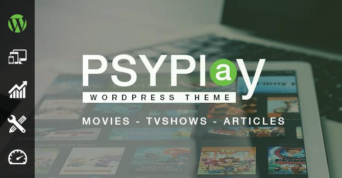 Download PsyPlay v1.2.5 – WordPress Theme
