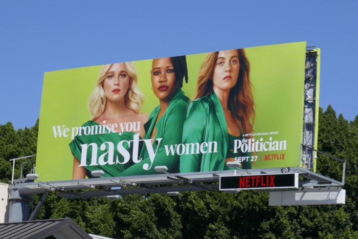 nasty women Politician billboard