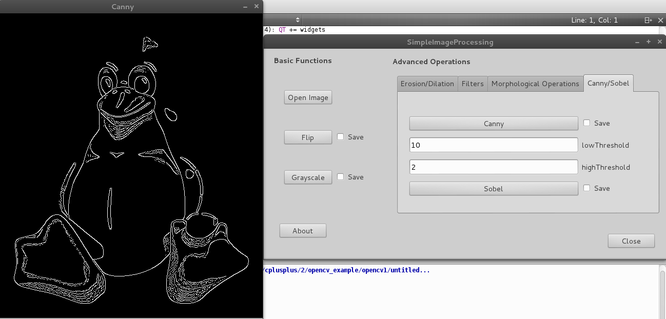 Simple Image Processing With C Opencv And Qt Creator Ramonesparza