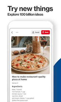 Pinterest Free Android app on Apcoid.com