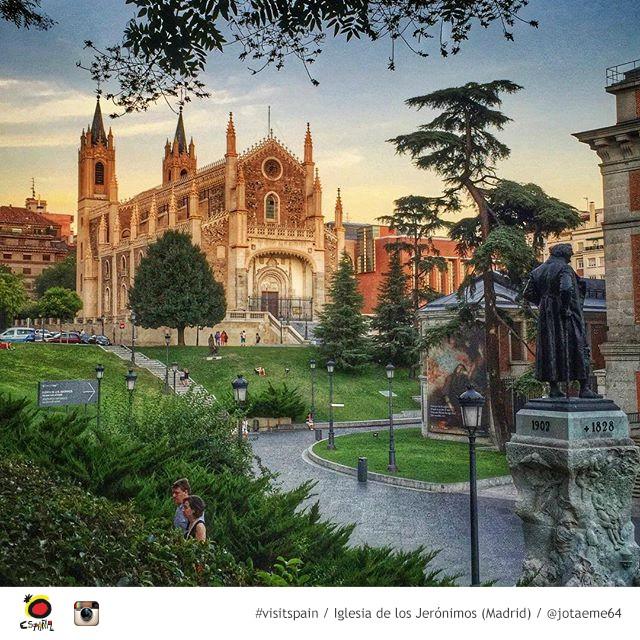 Um passeio por Madri - Iglesia de los Jeronimos