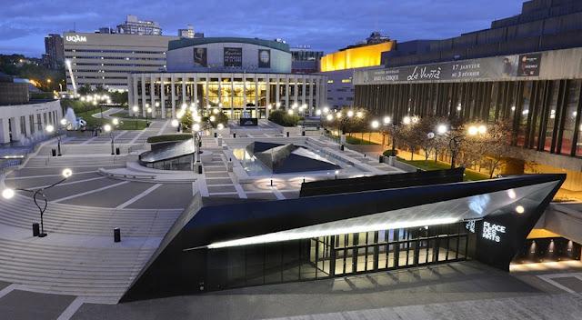 Place de Arts em Montreal