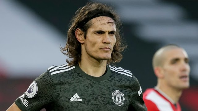 Man Utd's Cavani investigated by English FA over social media post
