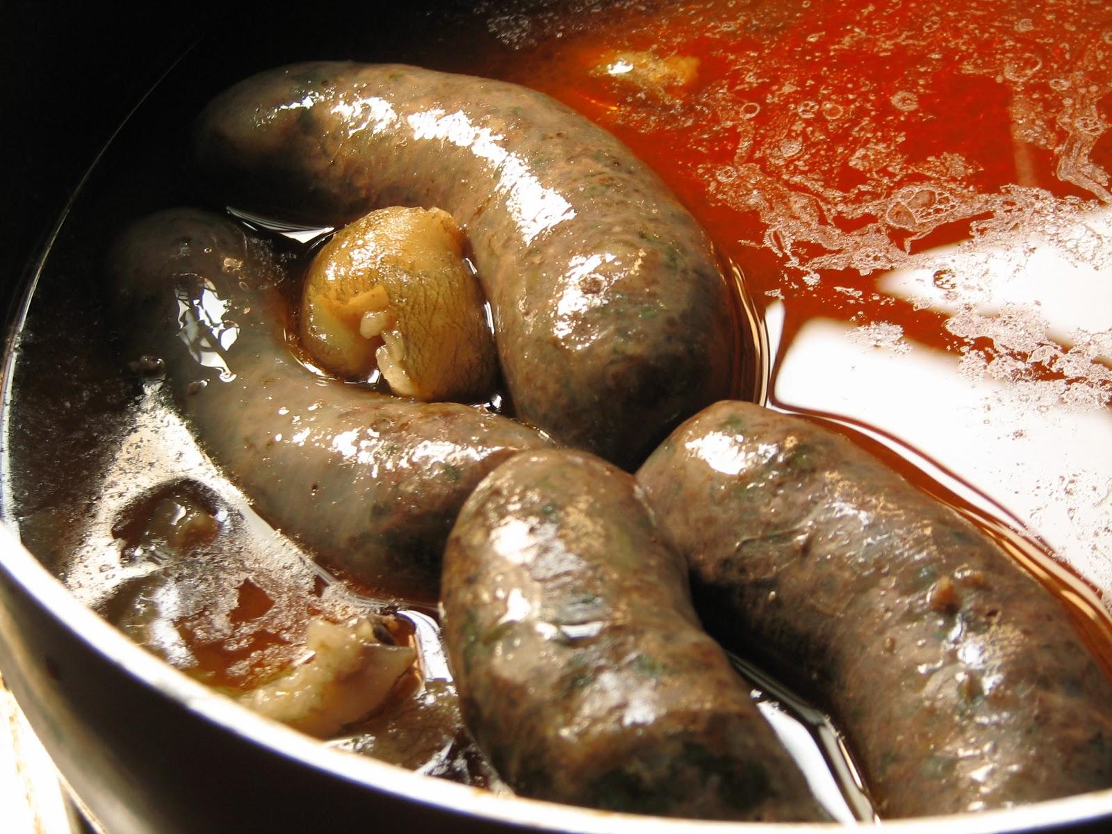 Handmade pork sausages 59