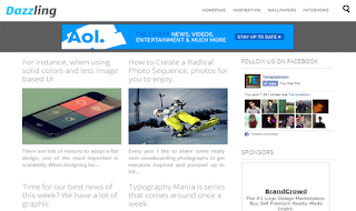 Dazzling Responsive Simple Blogger Template