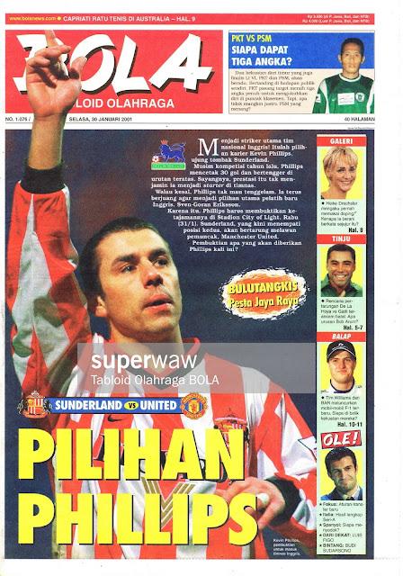 KEVIN PHILIPS SUNDERLAND ENGLISH FOOTBALL