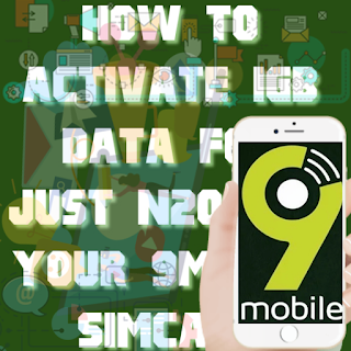 How To Activate 9mobile N200 For 1GB