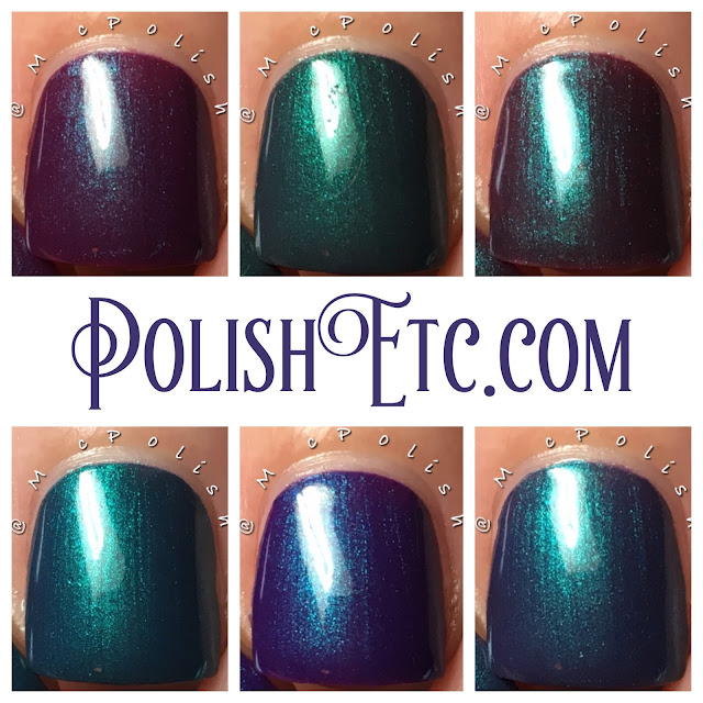 Native War Paints - Turquoise Carnival Collection - McPolish