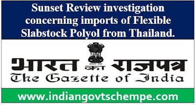 Flexible Slabstock Polyol from Thailand