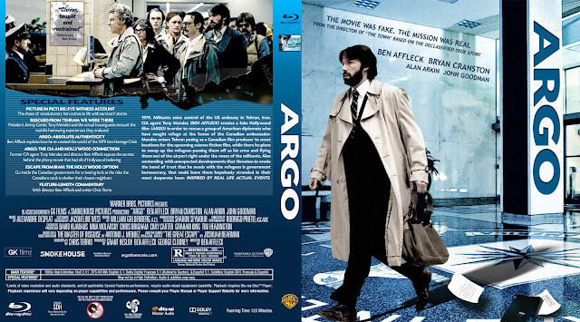 Argo Bluray Cover