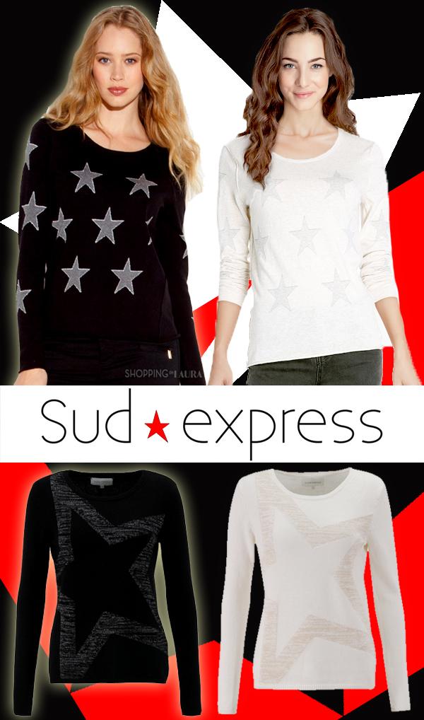 Pull étoile femme chic et original SUD EXPRESS