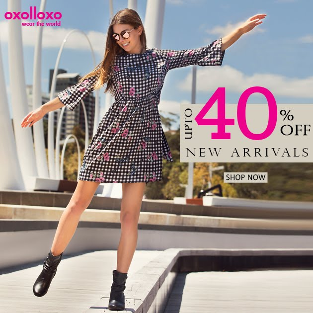 It's upto 40% off on Fresh Arrivals!