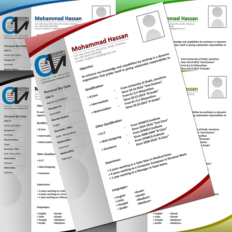 Latest CV Design: Latest cv formats free download, latest cv formats ...