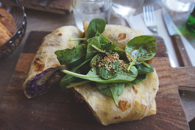 Falafel Wrap at Season Paris