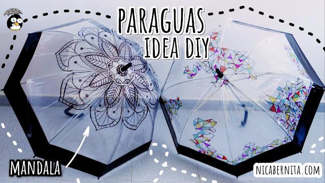 Ideas para regalar, regalos hechos a mano: cómo decorar un paraguas