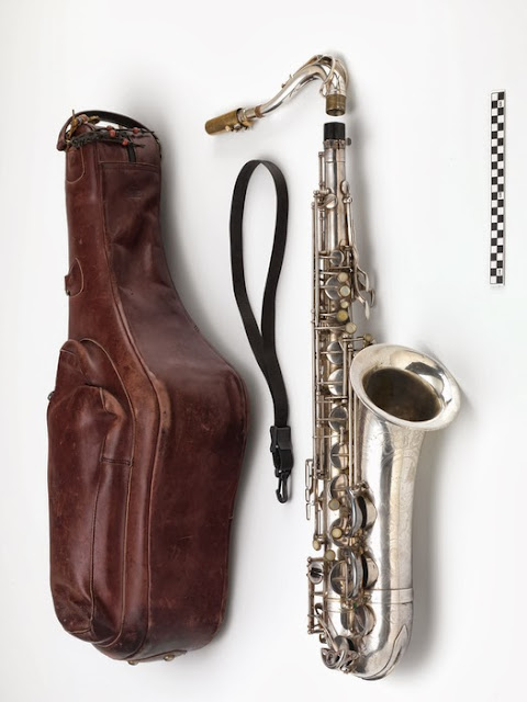Jim Pepper's saxophone, 26/6293