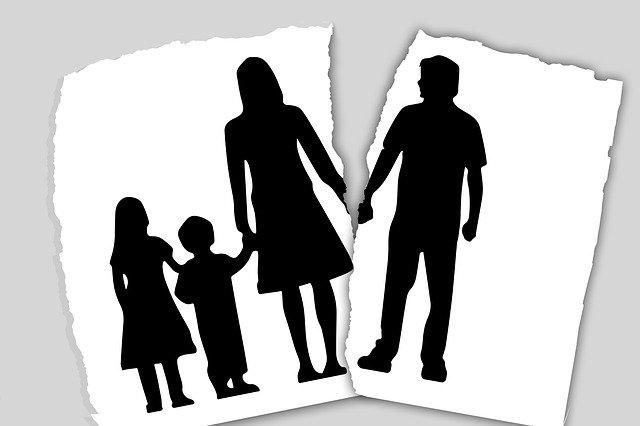 التعامل مع الانفصال أو الطلاق