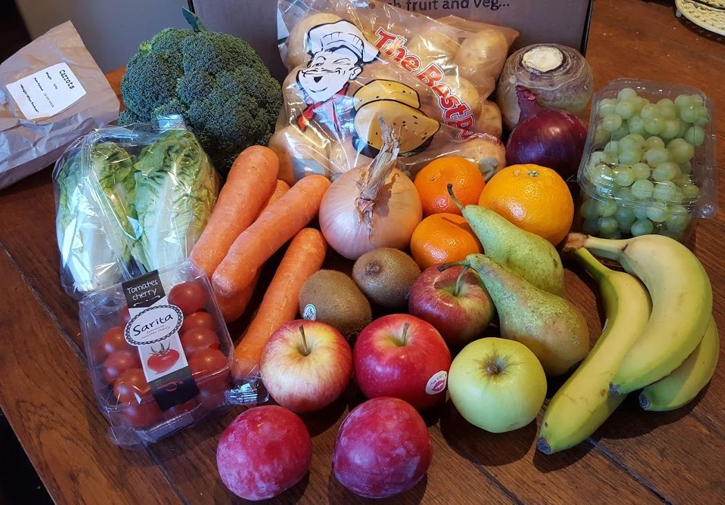 The Brick Castle Creamline Fresh Fruit And Veg Box