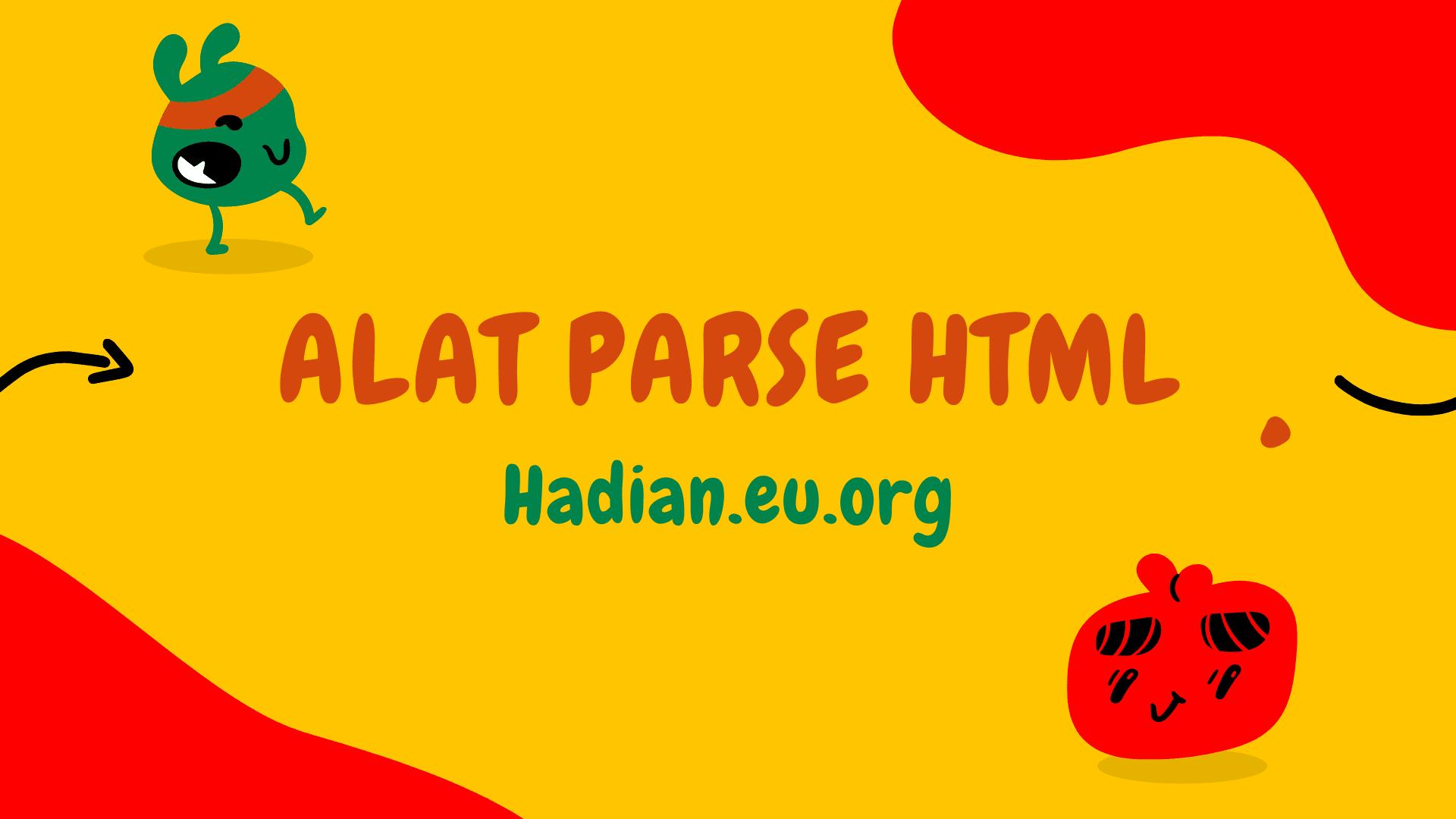 Alat parse html