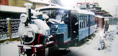 AC coaches in Darjeeling Himalayan Railway