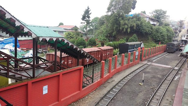 GHOOM RAILWAY STATION DARJEELING TOY TRAIN