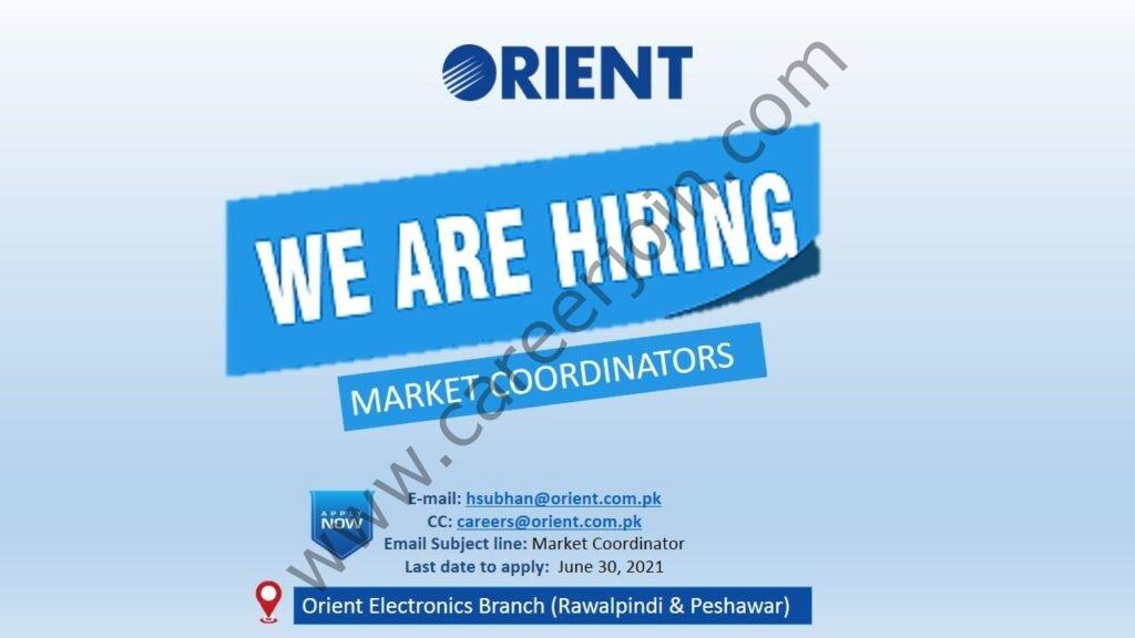 hsubhan@orient.com.pk - Orient Group Jobs 2021 in Pakistan