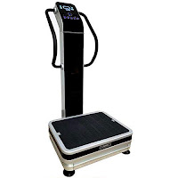 HEALTH AND MED.COM GForce Pro S 1500W Dual Motor Whole Body Vibration Plate Exercise Machine, oscillation & triplanar motion, G Force 2.8 – 17.24 Gs