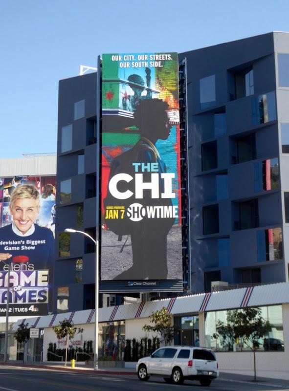 Chi series launch billboard