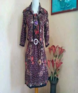 model baju batik atasan artis