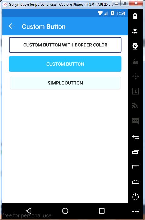 Xamarin Forms Custom Button