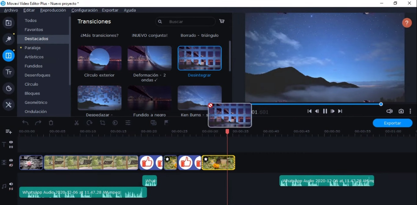 como utilizar Movavi Video Editor Plus