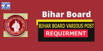 Bihar Board Various Post Online Form 2019 Exam Dates, Admit Card, Result All Details.