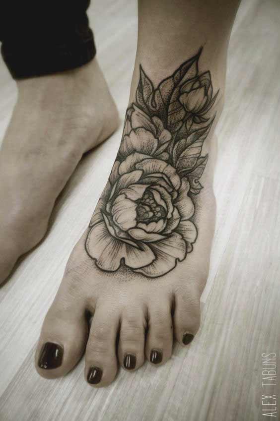 Best foot tattoos designs Ideas