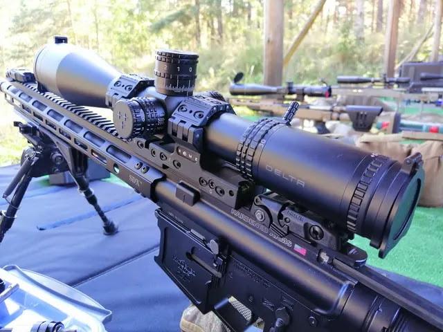aprende ingles ejercito rifle francotirador con mira