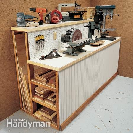 tools and wood storage cart by the Family Handyman