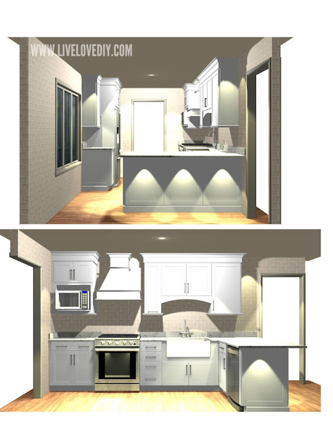 kitchen makeover layout ideas tips