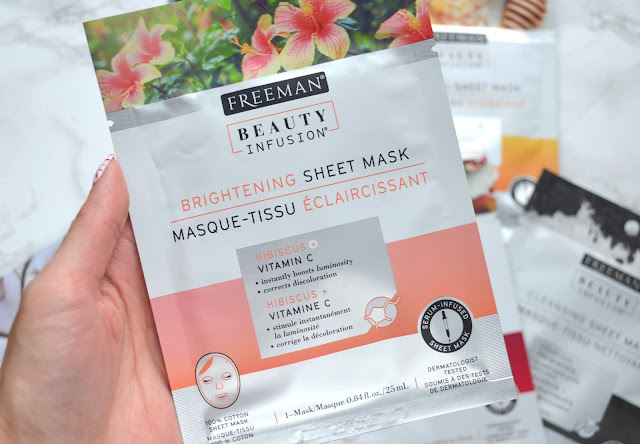Freeman Brightening Sheet Mask Review