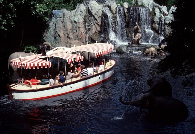 Jungle Cruise no Magic Kingdom na Disney