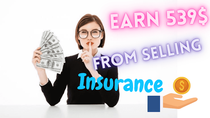 Earn 539$ Per hr From selling insurance