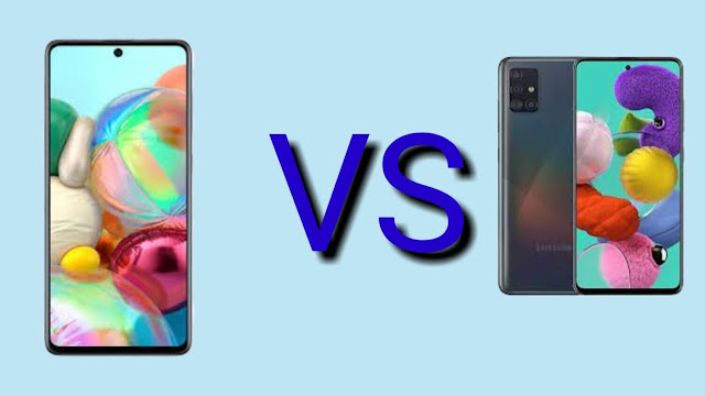 Samsung A71 and Samsung A51 which one is the king?