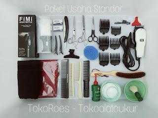 paket usaha peralatan cukur