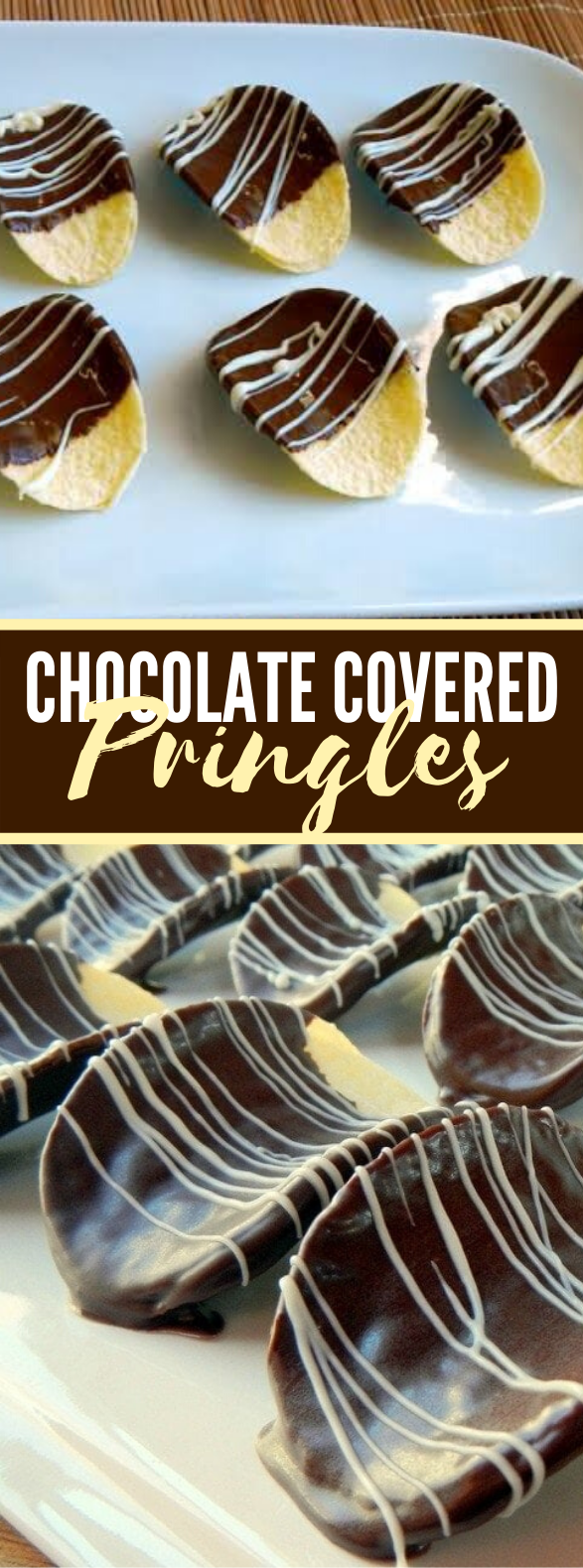 Chocolate Covered Pringles #desserts #thanksgiving