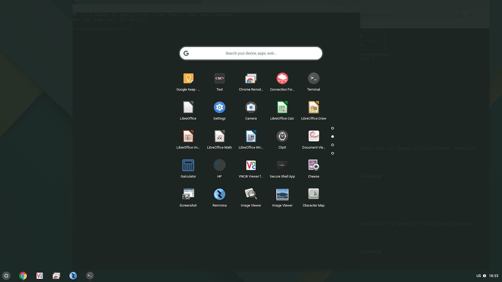 linuxium com au: Introduction to Crostini - Part 3: Using Ubuntu by