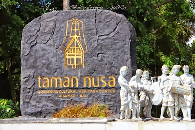 Taman Nusa - Cultural Tourism Parks About Heritage Various Ethnic Cultures of Indonesia