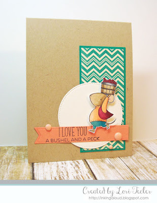 A Bushel and a Peck card-designed by Lori Tecler/Inking Aloud-stamps and dies from My Favorite Things