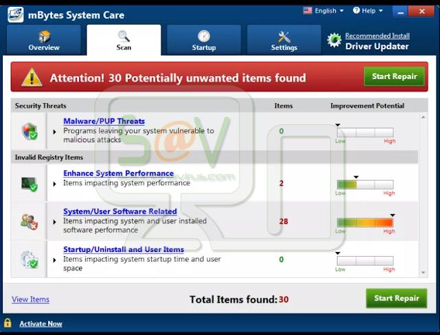 MBytes System Care (Falso optimizador)