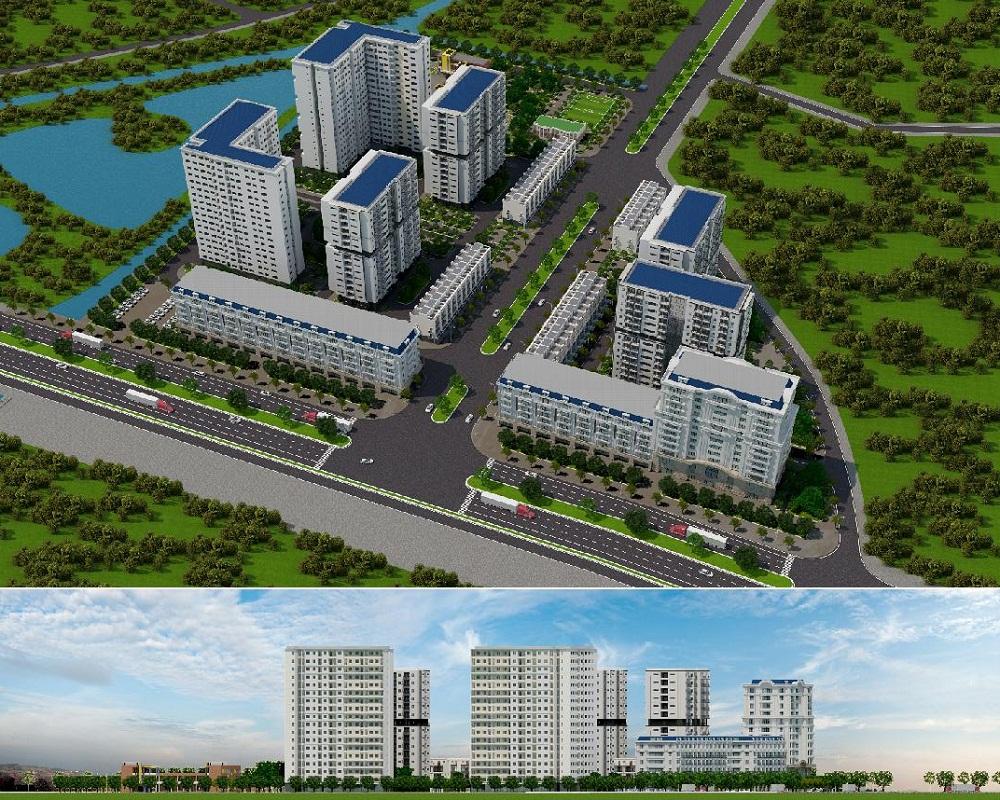 Khu nhà ở xã hội Vân Dương, TP Bắc Ninh và xã Phương Liễu huyện Quế Võ