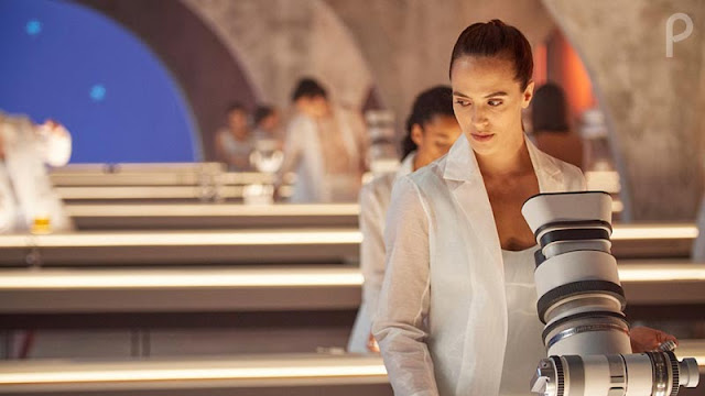 Jessica Brown Findlay en 'Brave New World' (Un mundo feliz) de Peacock